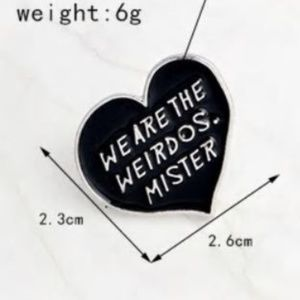 5/$24 We Are the Weirdos, Mister Pin The Craft